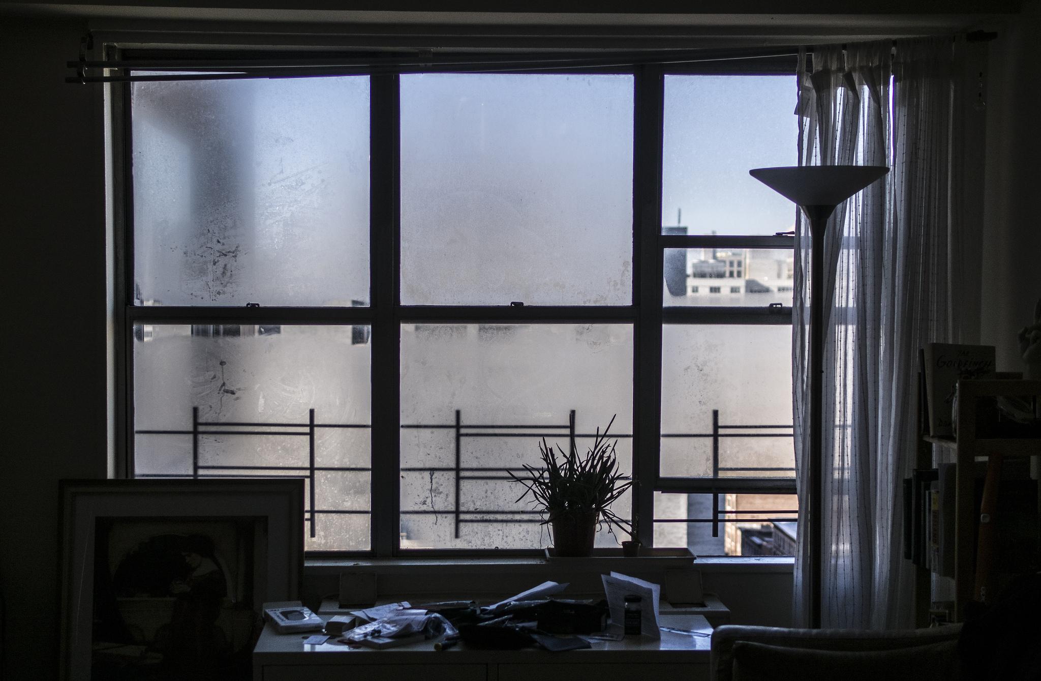 Výhled z orosených oken se může zdát nejasný