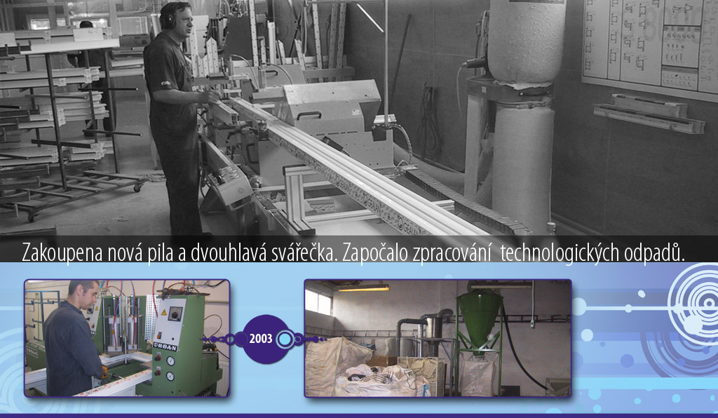Modernizace technologie 2003