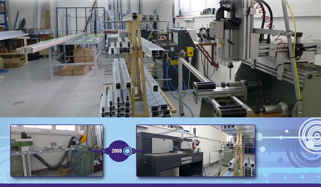 Rozšiřujeme výrobu o hliníková okna a dveře