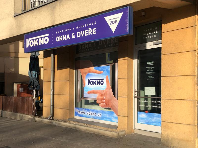 Kroměřížská pobočka V okno