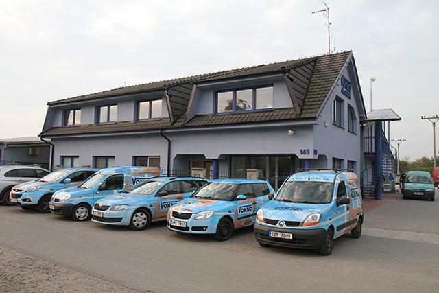Skaštická centrála firmy V okno