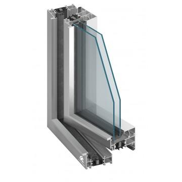 MB 70 je moderní systém pro výrobu oken a dveří