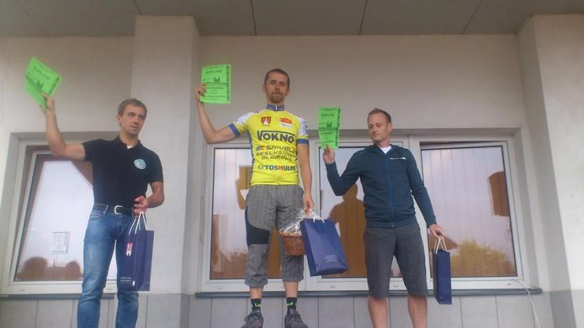 1. místo Davida Studýnky v závodě MTB Cross country