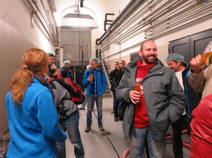 Exkurze v pivovaru ZUBR