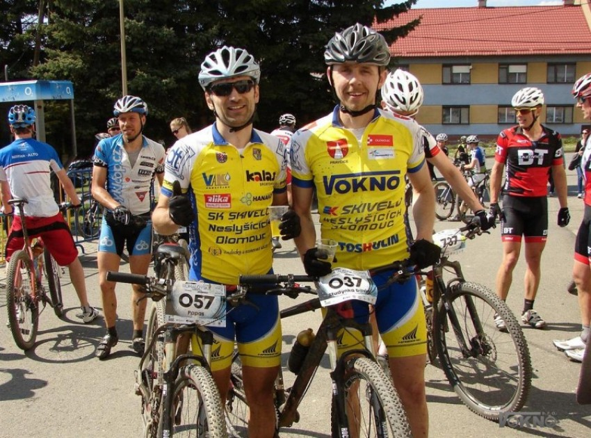 Úspěchy v cyklistice Davida Studýnky