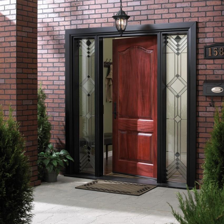 Dveře dřevené, vrata garážová