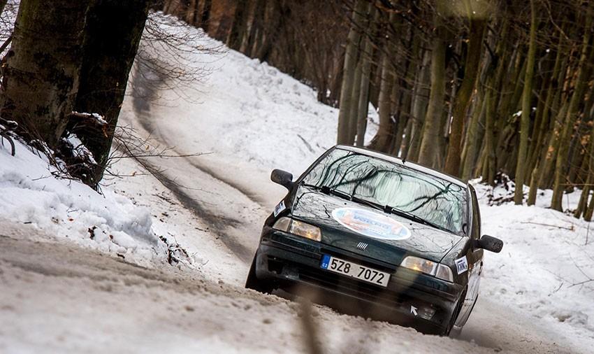 Jiří Petera za volantem