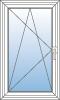 Okno jednodílné