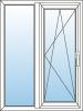 Jednokřídlé okno s výkladcem