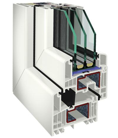 Okenní profil S9000