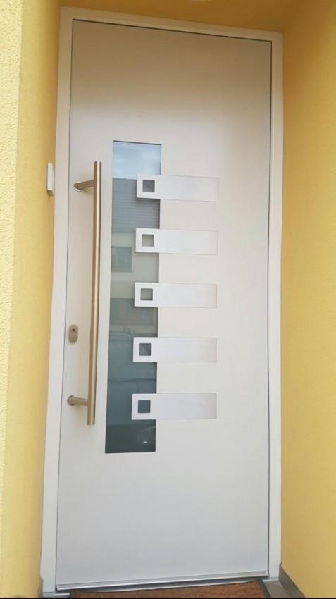 Plastové dveře - Huštěnovice