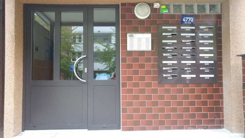 Hliníkové dveře - Zlín