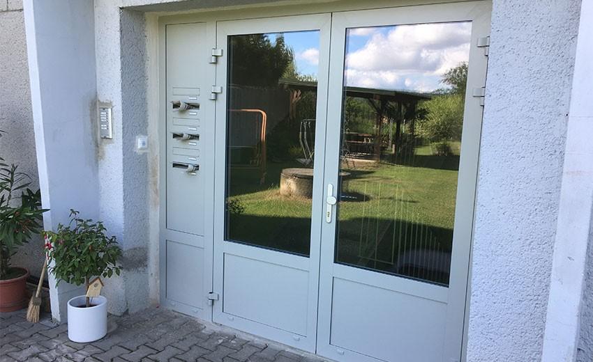 Hliníkové dveře - Olomoucký kraj