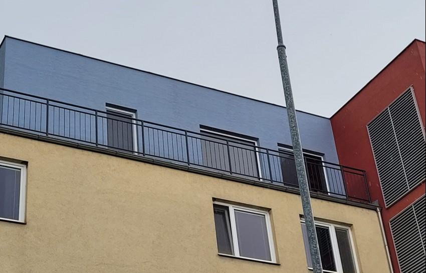 Plastová okna Gealan S 9000 - zasklení jeřábem