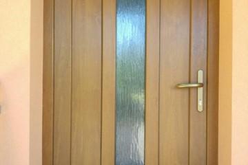 Plastové příčkové dveře