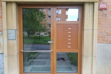 Hliníkové dveře MB 86