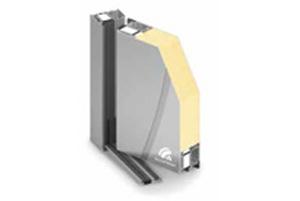 Hliníkové dveře vstupní designové