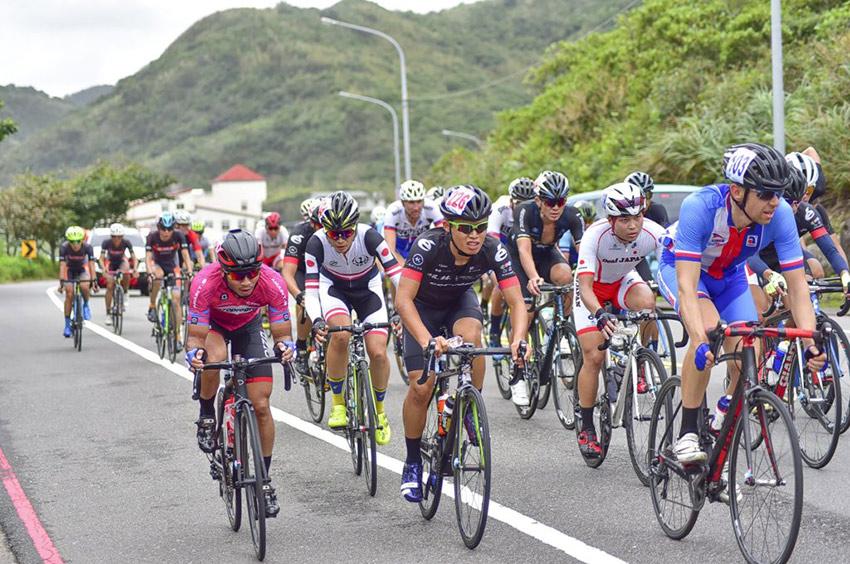 Tour de Formosa - startovní pole