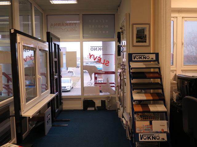 Vnitřní prostory pobočky V okno v Prostějově